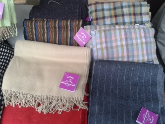 McNutts Donegal Woollen Mill - Throws, Shawls & Scarves.